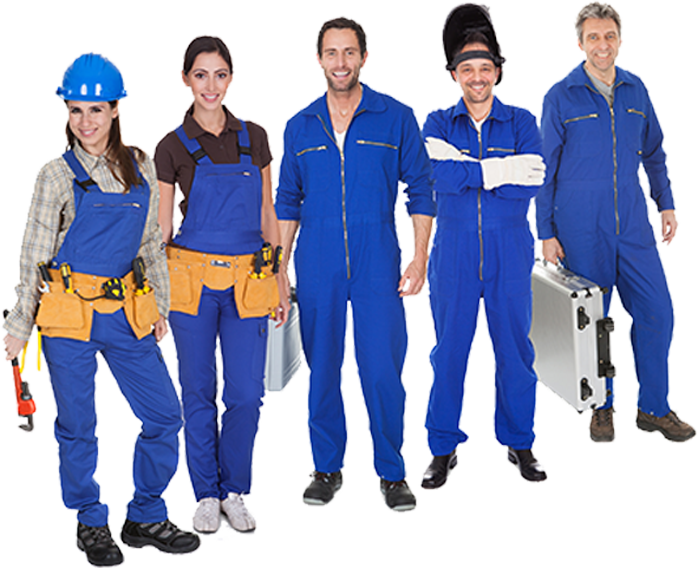 group-of-plumbers